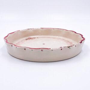 Keramična Posoda za peko pite. Glazirana keramika in visoka kvaliteta.