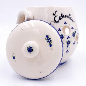 Keramična posoda za čebulo - keramični čebulnik