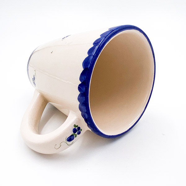Glazirana keramična skodelica za kavo - 3 decilitre, 3DC